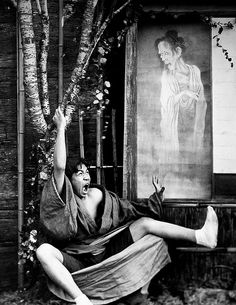 MAGURO SEES A GHOST -- or, The Effects of Drinking Sake All Night at a Geisha Party by Okinawa Soba, via Flickr