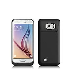 Samsung Galaxy S6 Edge 2015 Newest 4200 Mah Backup External Battery Charger Case, ISAKO® 4200 mAh Ultra Slim Rechargeable Extended Charging Case for Samsung Galaxy S6 Edge, Portable Backup Power Bank Case with Kickstand (Black) ISAKO http://www.amazon.com/dp/B00W3GI24K/ref=cm_sw_r_pi_dp_3guxvb0C71S8Q