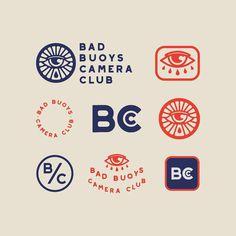 Luke Harrison (@begoodstudio) on Instagram: Bad Buoys secondary supporting lockups