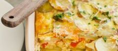 Recipe: Fresh Herb, Potato, and Goat Cheese Frittata | The Kitchn