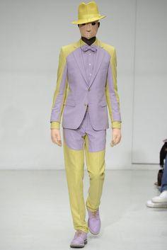 2012 Fall Menswear - Walter Van Beirendonck.