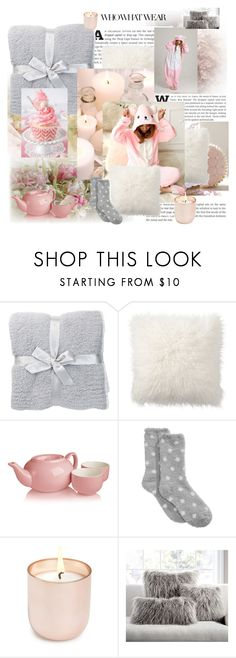 onesie by faritsaforfashion on Polyvore featuring mode, Charter Club, Barefoot Dreams, Pottery Barn, Jonathan Adler and Adagio Teas