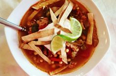 Foodista | Recipes, Cooking Tips, and Food News | Mexican Chicken & Rice Soup
