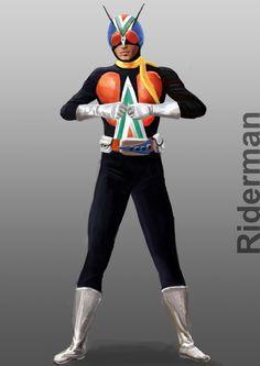 Kamen Rider Riderman by doneplay.deviantart.com on @deviantART