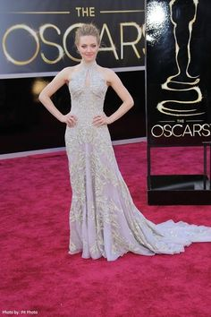 Oscars 2013: Gorgeous Wedding-Worthy Dresses. Amanda Seyfried wore a stunning embellished gown designed by Alexander McQueen. - See more at: http://celebritystyleweddings.com/fashion-and-style/oscars-2013-gorgeous-wedding-worthy-dresses/#sthash.ae0DEvkH.sXO7gQn2.dpuf   @Celebstylewed