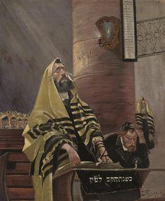 Isaak Strycharski (Polish, 19th/20th Century) - The prayer
