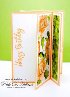 Fun Projects, Project Ideas, Fancy Fold Cards, Card Tutorials, Pinwheels, Some Fun, Cardmaking, Stampin Up, Card Stock