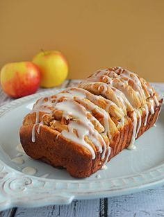 Apple Fritter Pull Apart Bread