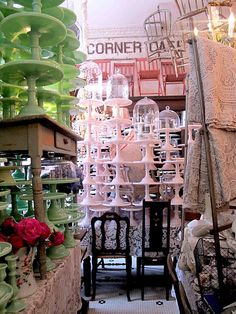 Bountiful - this gorgeous, vintage inspired brick-a-brack-ish store in Santa Monica, LA. This is the store I was looking for as it is in my area. I am in So Orange County, Does anyone know this store in LA? Cake Pedestal, Tiered Stand, Take The Cake, Plate Stands, Cake Shop, Apothecary Jars, Cake Plates, Beautiful Cakes, Beautiful Life