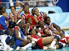 MuchoGoogle Loco_Cuba Women's Volleyball Team _3 times Olimpic Champions(1992-1996-2000)