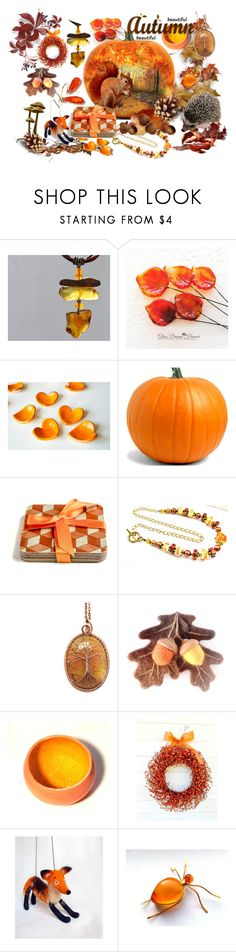 """Autumn Etsy"" by andreadawn1 ❤ liked on Polyvore"