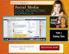 Video #2 of 3 of Jessica Higdon's training about Using Social Media To Build A Local Network Marketing Team is UP. Check it out below  http://worldwideonlinesuccess.com/local-recruiting