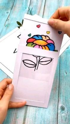 Paper Crafts Origami, Paper Crafts For Kids, Preschool Crafts, Paper Crafting, Diy Crafts Hacks, Diy Crafts For Gifts, Diy Crafts Videos, Fun Crafts, Craft Tutorials