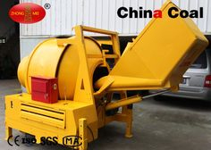 chinacoal03  Electric concrete mixer  1.  specially designed for hydraulic tipping loading hopper and non accumulator hydraulic system. 2.  There is the isolation chamber sealing structure in stroke cylinder even if the inlet of the stroke cylinder seal damage, wear the seal from the washing room of the water will be discharged out of the machine, can not enter the hydraulic oil tank.