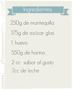 Proyecto Pastelito: Galletas de mantequilla (perfectas)
