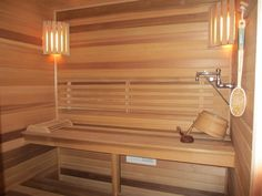 Our sauna we just finished ;) Love it