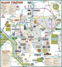Madrid Spain Map Tourist.206 Best Madrid Spain Images Maps Spanish Blue Prints