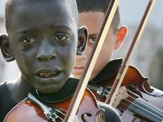 Diego Frazão Torquato, a twelve year old kid, is playing the violin for his dead music teacher. The teacher helped him to escape the poorness and violence, by playing music