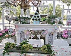 Penny's Vintage Home: Summer Mantel on the Porch