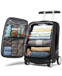 "Samsonite Suitcase, 21"" EZ Cart Rolling Upright - Luggage Collections - luggage - Macy's"