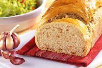 Cantinho Vegetariano: Pão de Alho (vegana)
