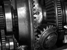 Gears- imagery that reminds me of Geoffrey, used by Henry many times