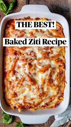 Italian Dinner Recipes, Quick Dinner Recipes, Italian Foods, Italian Dishes, Best Pasta Recipes, Cooking Recipes, Healthy Recipes, Food Dishes, Pasta Dishes