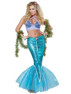 Check out Women's Deluxe Sexy Mermaid Costume - Mermaids Costumes from Costume Super Center