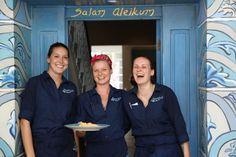 Lena, Scarlet & Svenja : Moorish Blue North Sydney