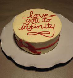 I love you to infinity cake  #sweetsweetjules