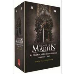 BOX - AS CRONICAS DE GELO E FOGO - 3 VOLUMES-R$130.12