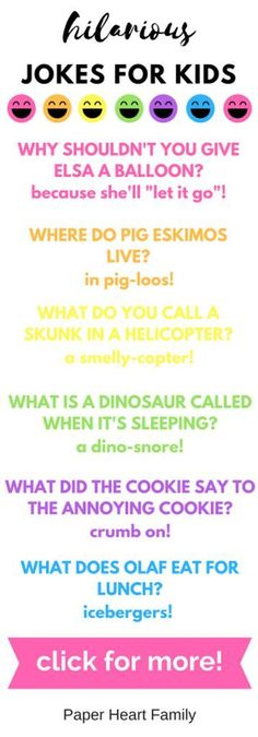 hilarious jokes for kids #parentingtipsfortoddlers