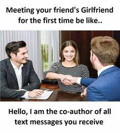 LMAO 😂 Funny Minion Memes, Very Funny Memes, Latest Funny Jokes, Funny School Memes, Funny True Quotes, Some Funny Jokes, Funny Relatable Memes, Funny Facts, Hilarious
