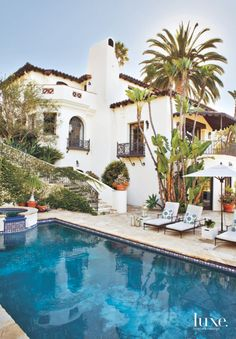 Spanish Treasure in Los Angeles   Features - Design Insight from the Editors of Luxe Interiors + Design
