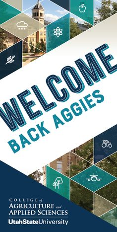 USU College of Agriculture Welcome Banners