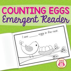 A Spring bird emergent reader for your preschool, pre-k or kindergarten class.This fun freebie will be a great addition to your preschool, pre-K, kindergarten or special education classroom and will be a perfect addition to your thematic units on birds, eggs, spring, life cycles, trees, and even Easter,  Enjoy!This easy to assemble, emergent reader has adorable illustrations, easy-to-read fonts, and simple repetitive text featuring the sight words I, see, in, the.