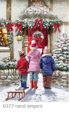 """Carol Singers"" by Richard Macneil"