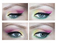 Colourfull eye