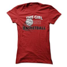 This girl love basketball T Shirts, Hoodies, Sweatshirts. GET ONE ==> https://www.sunfrog.com/Sports/This-girl-love-basketball.html?41382