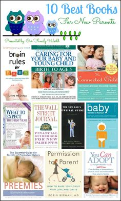 10 Best Parenting Books for New Parents | OurFamilyWorld.com, #books, #parenting #parents