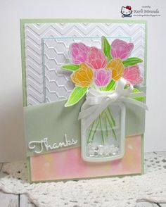 Jar - Homemade Cards, Rubber Stamp Art, & Paper Crafts - Splitcoaststampers.com