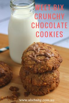 Crunchy Chocolate Weet - Bix Cookies - ABC Blog - Australian Baby Card