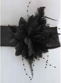 Sjerpen+&+Riemen+-+$14.99+-+Eenvoudig+Satijn+Ceintuurs+met+Feather++http://www.dressfirst.nl/Eenvoudig-Satijn-Ceintuurs-Met-Feather-015064972-g64972