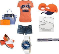 """Denver Broncos"" by maddieswetlik on Polyvore"