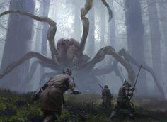 Big Spider by Jaime Jones (Aka terrifying presence)