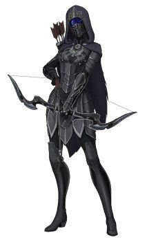 Tali - Nightingale by spaceMAXmarine on DeviantArt Dnd Characters, Fantasy Characters, Female Characters, Fantasy Character Design, Character Design Inspiration, Character Art, Fantasy Armor, Dark Fantasy Art, Kleidung Design