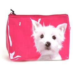 Westie Terrier on Pink - Make Up Bag / Wash Bag by Catseye by catseye. $19.98. Catseye brings you the funkiest, most colourful animals in the universe. Animals galore.. Fully washable funky PVC.. Terrier on Pink - Make Up Bag / Wash Bag by Catseye  Catseye brings you the funkiest, most colourful animals in the universe  Fully washable funky PVC.  Animals galore.  22 x 12 cm