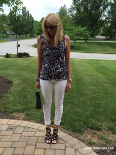 Stitch Fix Top and Purse | My Life From Home Blog | www.mylifefromhome.com