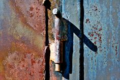 Abstract Fine Art Photography, Industrial Rust - Bolted - 8x10 via Etsy