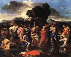 The Sacrament of Baptism by Nicolas Poussin